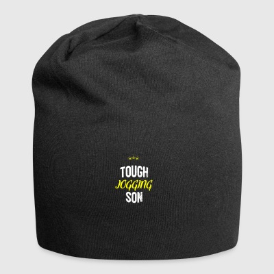 Distressed - TOUGH JOGGING SON - Jersey Beanie