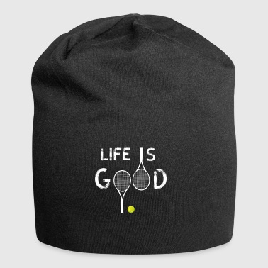 life tennis love tennis players tennisbal - Jersey Beanie