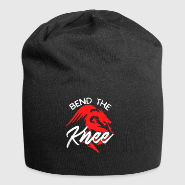bend the knee - Jersey-Beanie