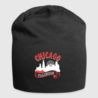 Chicago Illinois Vintage City - Jersey Beanie