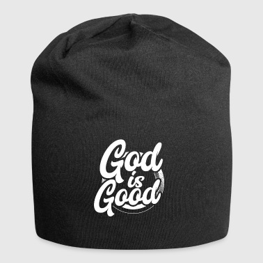 Shirt for Christians - God is good - Jersey Beanie