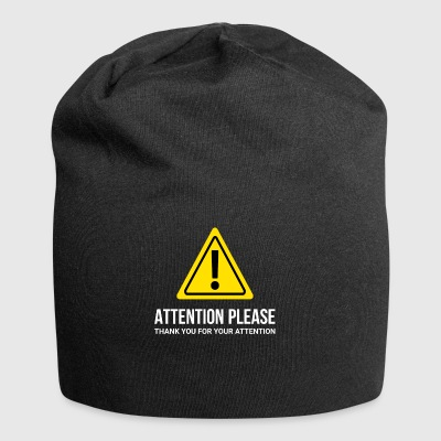 I ask for attention - thank you - Jersey Beanie