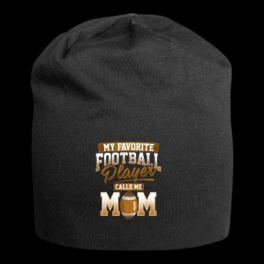 American Football Player Mom Geschenk - Jersey-Beanie
