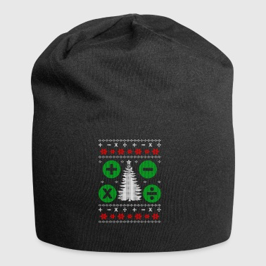 Math Ugly Christmas Gift - Jersey Beanie