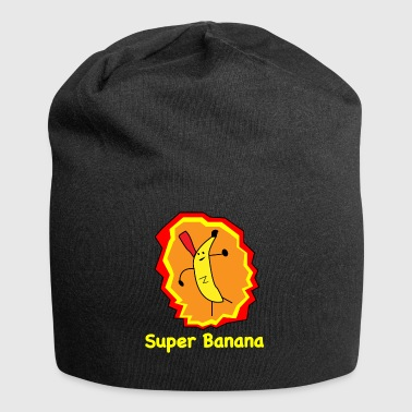 Super Banana - Beanie in jersey