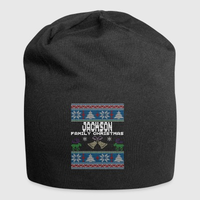 Ugly Jackson Christmas Family Vacation Tshirt - Jersey Beanie