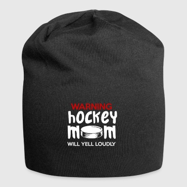 Hockey Mom cadeau - Bonnet en jersey