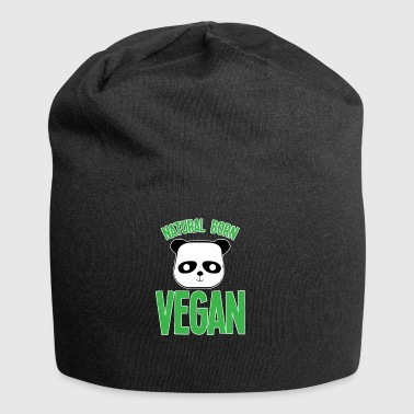 PANDA VEGAN vegetarian new cheap xmas fun haha - Jersey Beanie