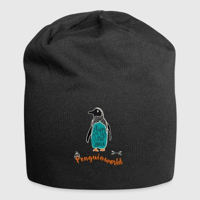 Pinguin new year Winter kalt Pinguin Frost Schnee - Jersey-Beanie