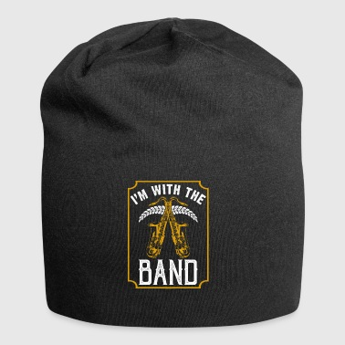 I with the Band Saxophone instrumentet - Jersey-beanie