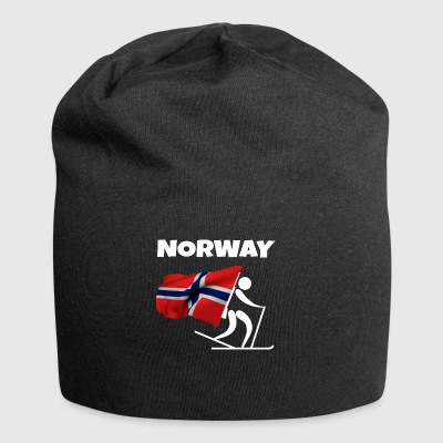 Biathlon in Norway as a gift - Jersey Beanie