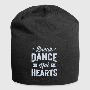 Break Dance Non Hearts - Beanie in jersey