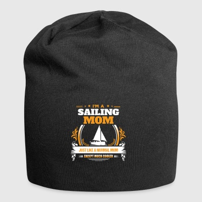 Sailing Mom Shirt Idea de regalo - Gorro holgado de tela de jersey