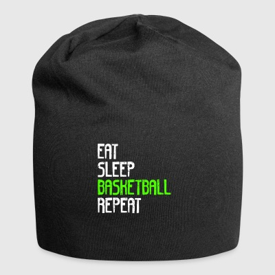 EAT SLEEP BASKETBALL REPEAT - Jersey Beanie