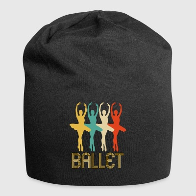 Awesome Retro Pop Art Ballet Gifts for Ballerinas - Jersey Beanie