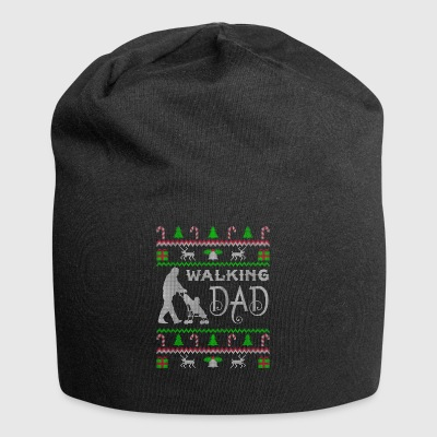 Walking Dad Ugly Christmas Sweater Geschenk - Jersey-Beanie