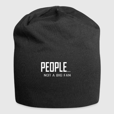 People Not a Big Fan - Jersey Beanie