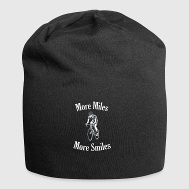 Cycling More Miles More Smiles - Jersey Beanie