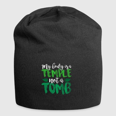 My body is a temple not a grave - Jersey Beanie