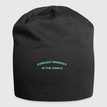 coolest monkey in the jungle - Jersey Beanie