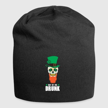 St Patricks Day Sugar Skull Top Hat Day - Jerseymössa