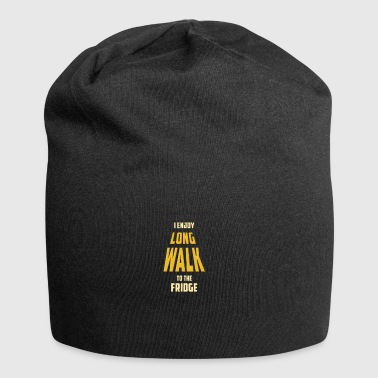 I ENJOY LONG WALK TO THE FRIDGE - Jersey Beanie