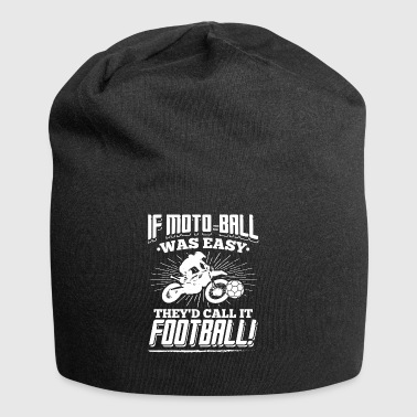 Moto Ball was easy - Jersey Beanie