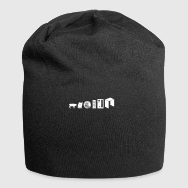 Neo Evolution Digital Blockchain Crypto Currency - Jersey Beanie