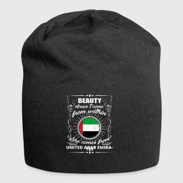 beauty comes from UNITED ARAB EMIRATES png - Jersey Beanie