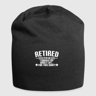 RETIRED 2018 - pension - pension - Pension - Jersey-Beanie