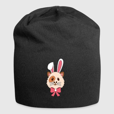 Guinea Pig Cartoon Happy Easter Gift - Jersey Beanie