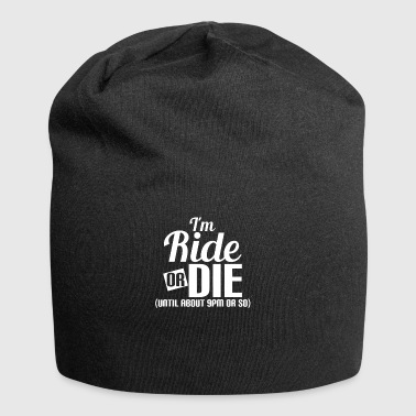 Ride - riding - driving - hobby - love - Jersey Beanie