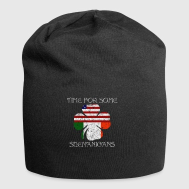 Time For Some Shenanigans Geschenk - Jersey-Beanie