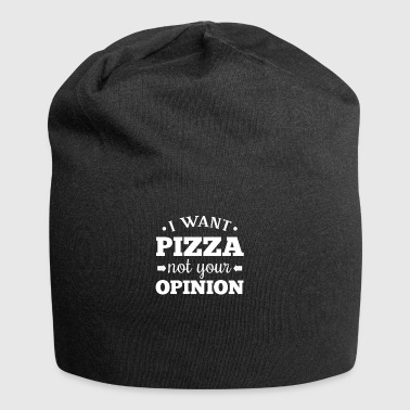 I do not like pizza - pizza gift - Jersey Beanie