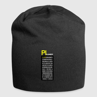 Number of Pi Mathematics Day - Jersey Beanie