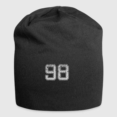 Number 98 Number Ninety-eight Nine Eight Gift - Jersey Beanie