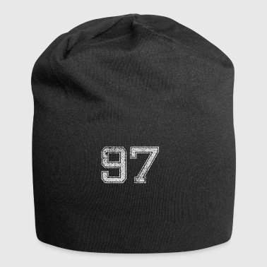 Number 97 Number Ninety-seven Nine Strainer Gift - Jersey Beanie