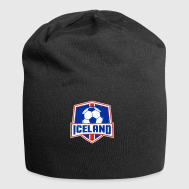 Iceland No 1 Soccer Team Football Gift - Jersey Beanie