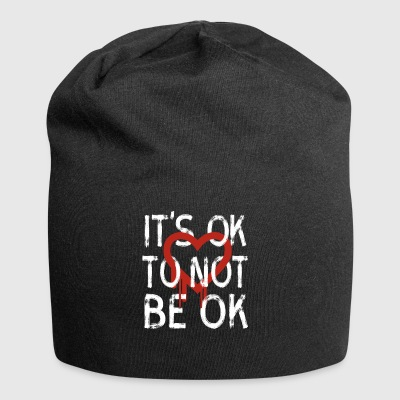 ok not to be okay depression social life psyche l - Jersey Beanie