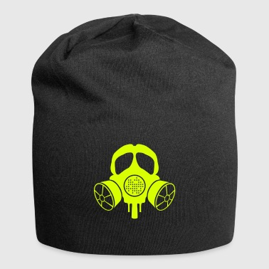 gas mask - Jersey Beanie