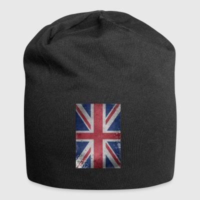 gb-flag Britain English Union Jack destroyed UK - Jersey Beanie