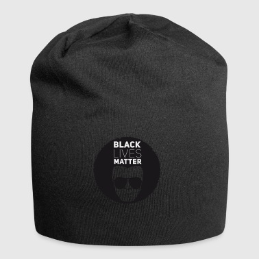 black lives matter liberation disco afro black su - Jersey Beanie