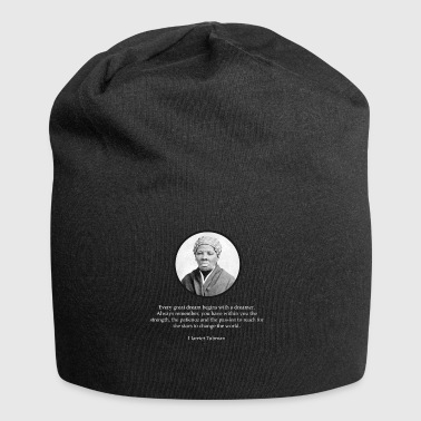 Harriet Tubman Citation droits civils - Bonnet en jersey