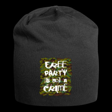 free party is not a crime tekno 23 - Jersey-Beanie