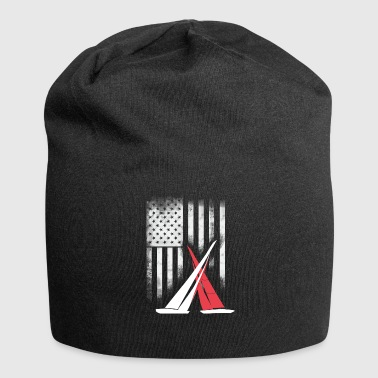 American sail sailing americas cup match Race foil - Jersey Beanie