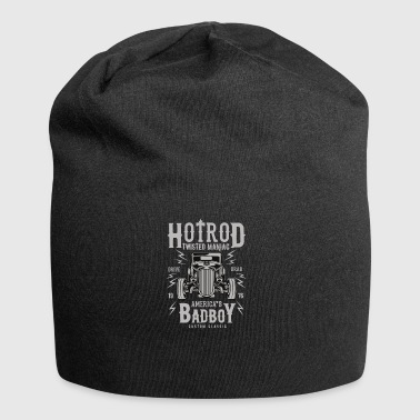 Hotrod twisted maniac: for lovers of hotrods! - Jersey Beanie