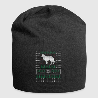 Border Collie Ugly Xmas Sweater julegave - Jersey-Beanie