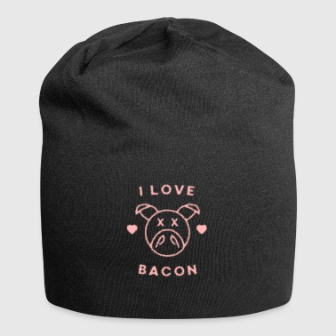 I Love Bacon - Jersey Beanie