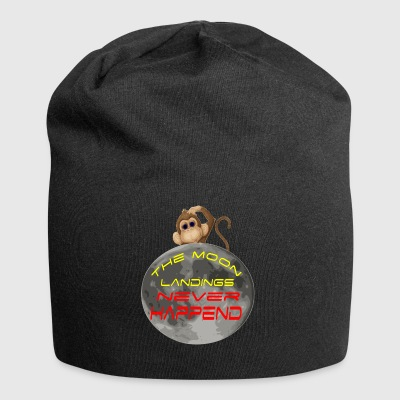 the moon landings never happened - Jersey Beanie
