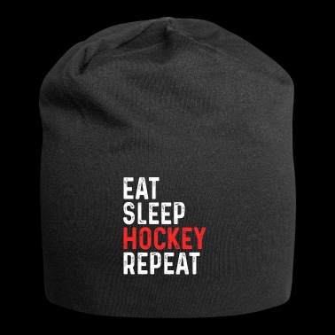 Eat Sleep Hockey Gjenta - Jersey-beanie